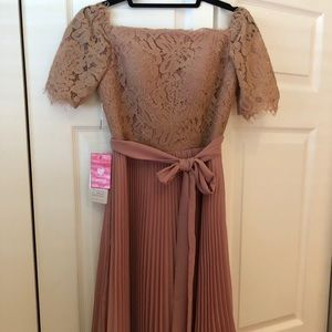 JJs House Dark Rose Dress